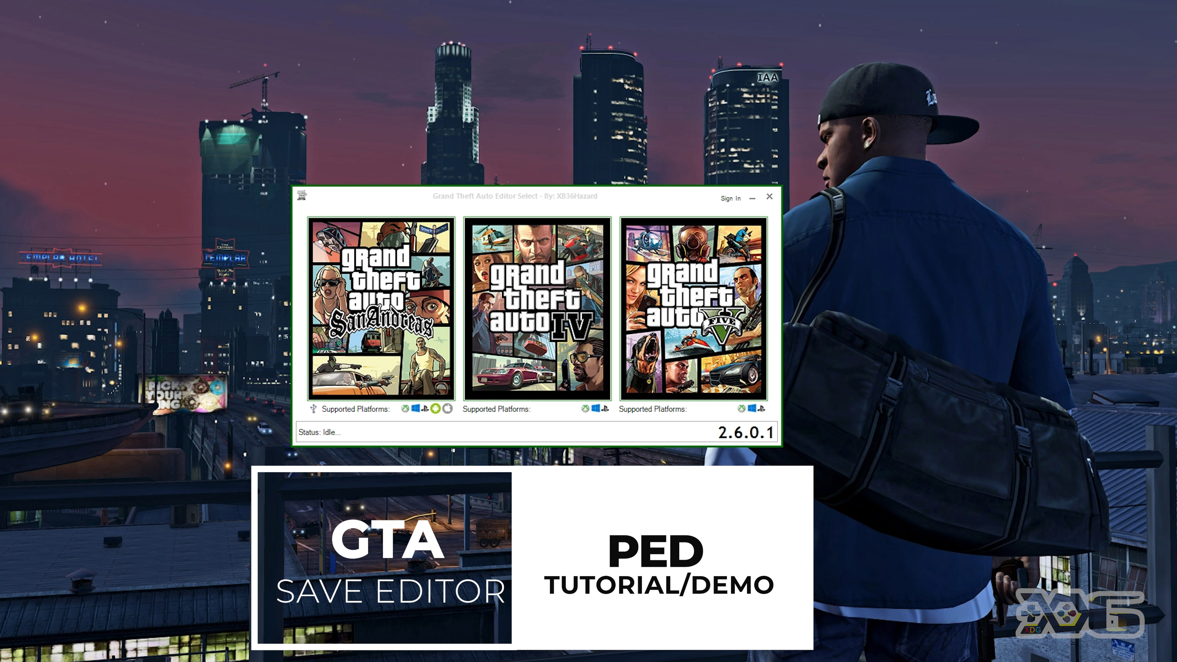 PED Editor Tutorial (How to Use PED Section in the GTA Save