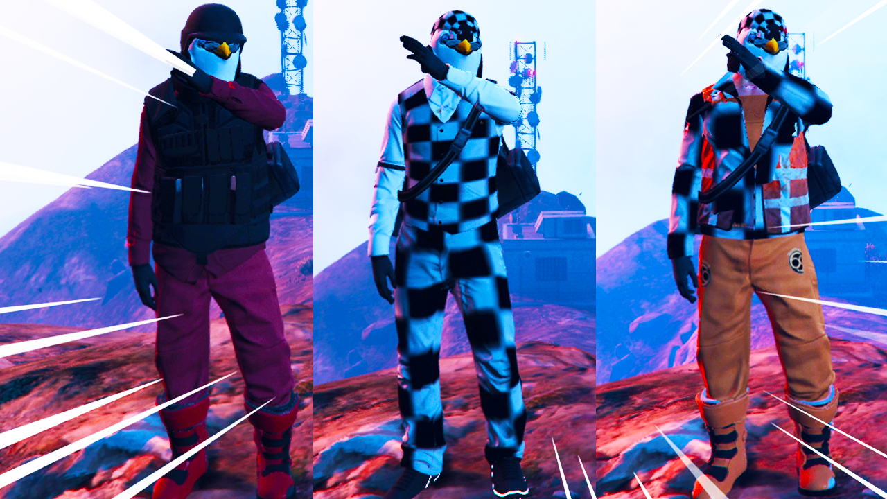 Director Mode Free Outfits #3 (GTA Online) 1.50