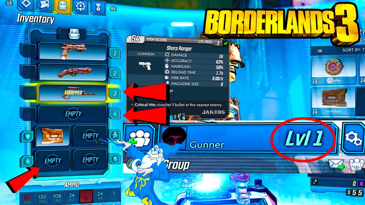 How To Unlock All Equipment Slots in Borderlands 3