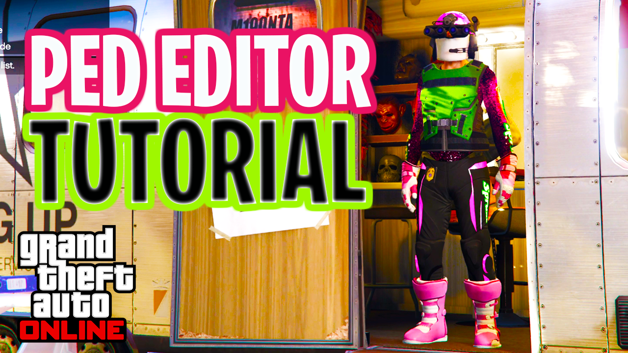 PED Editor Tutorial (How to Use PED Section in the GTA Save Editor) **Save Wizard/Director Mode** 1.50