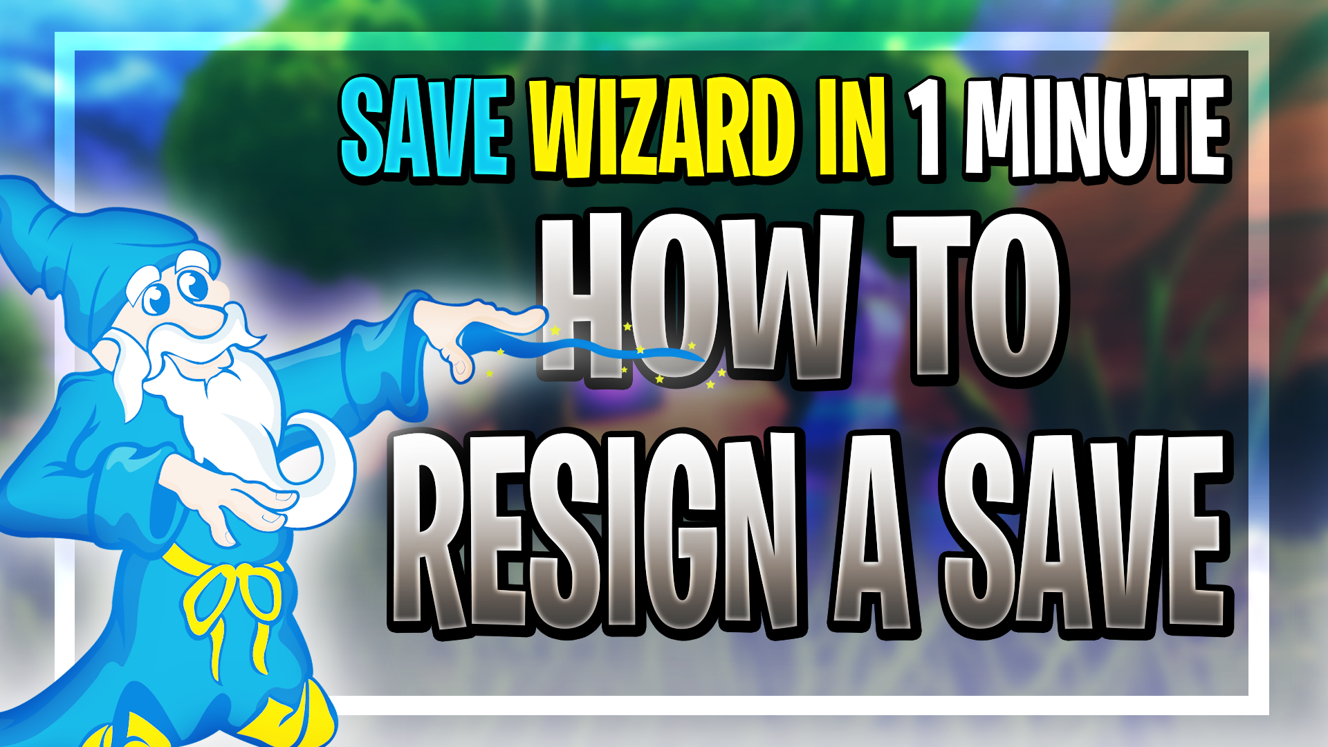 How to Resign Saves Using The Save Wizard (PS4)