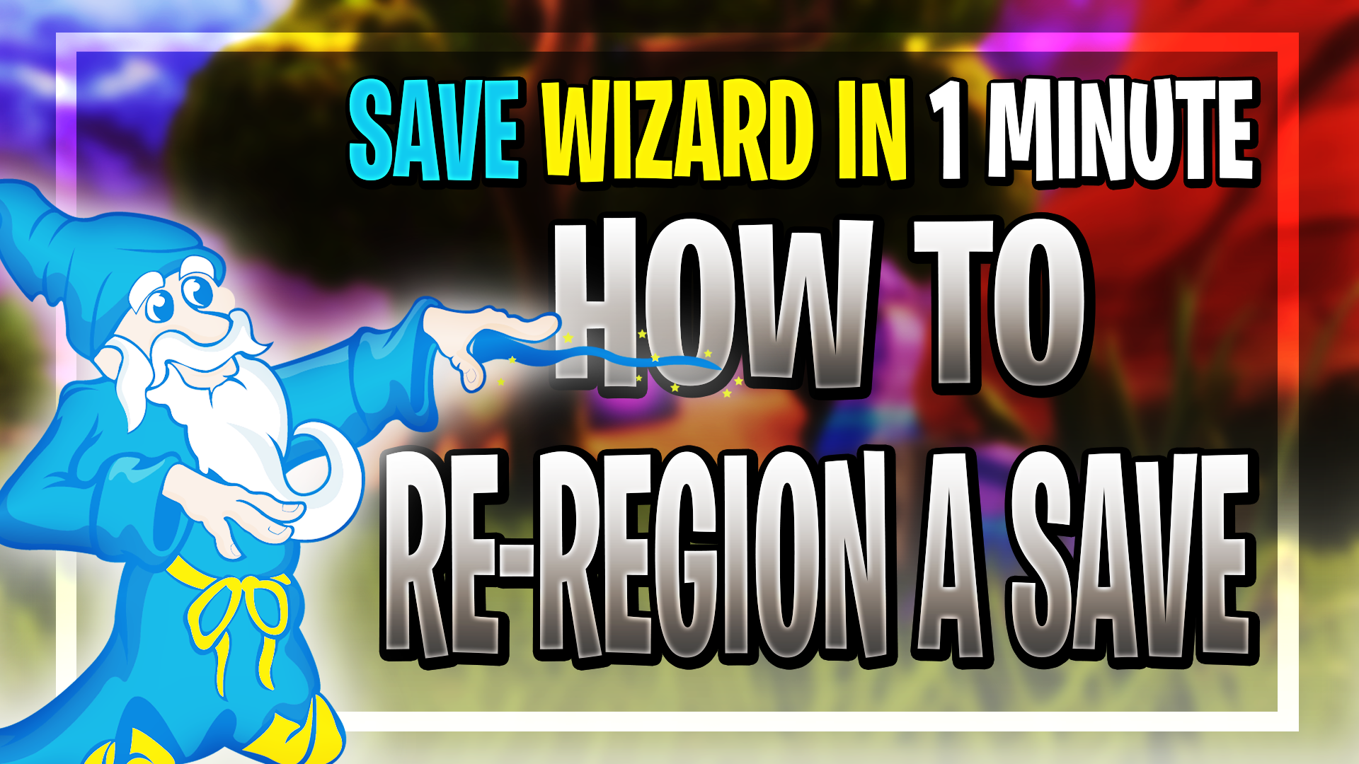How to Re-Region Saves Using The Save Wizard (PS4)