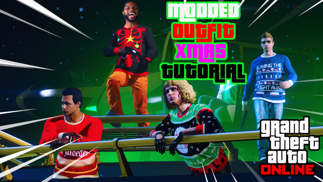 GTA Save Editor Fix (Bring Modded Outfits Online During Christmas)