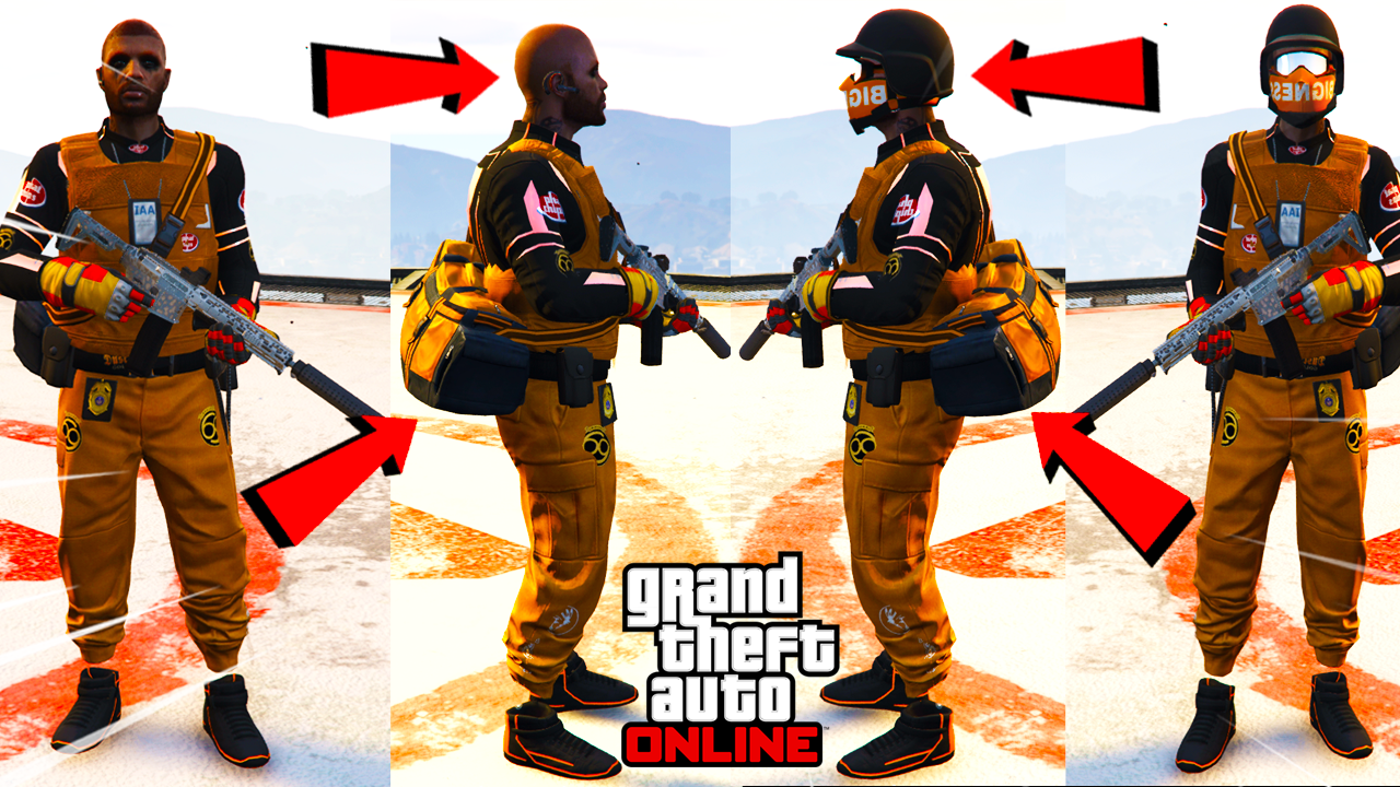 Save Casino Duffle Bags! GTA Online (Modded Outfit Tutorial)