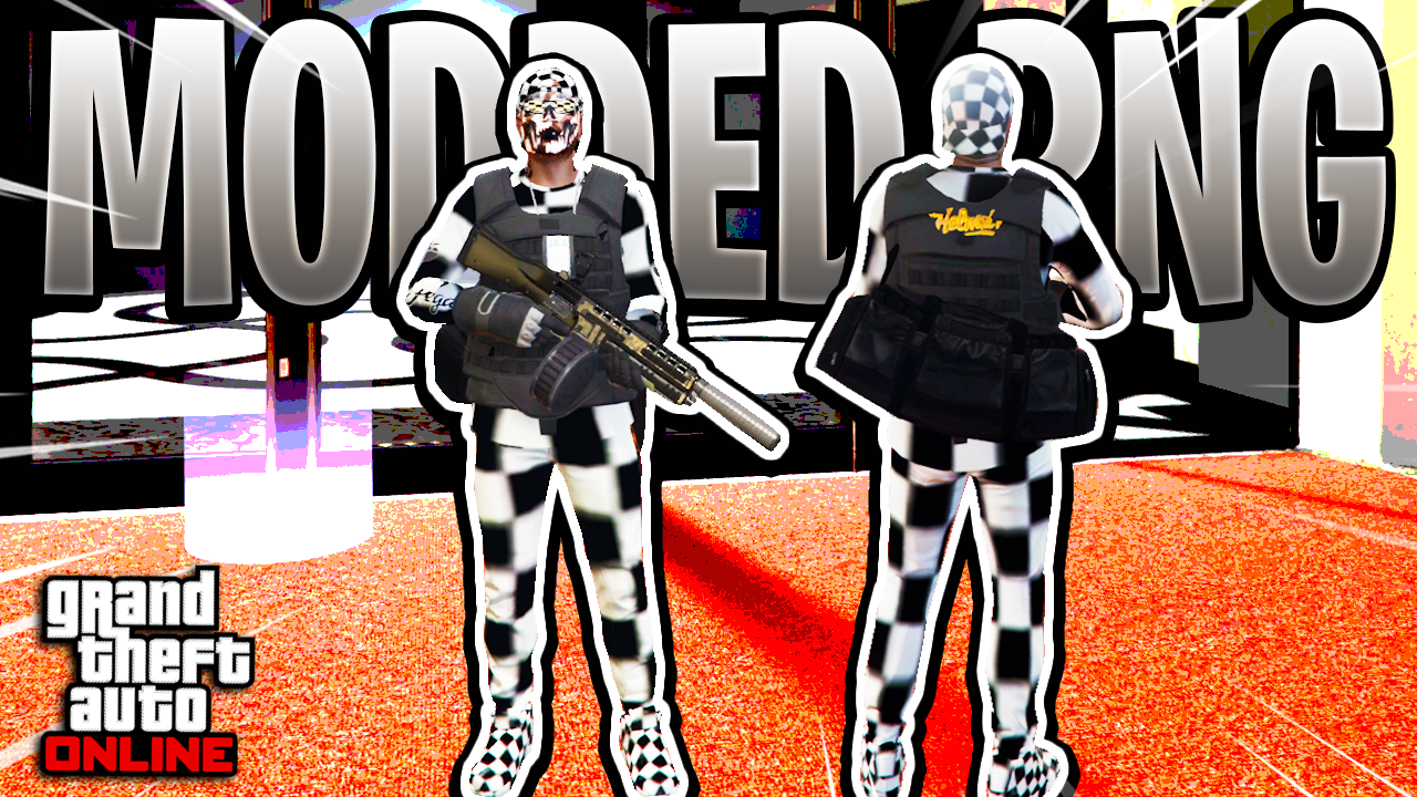 Full Checkerboard Modded Outfit (Keep All Outfits) GTA Online