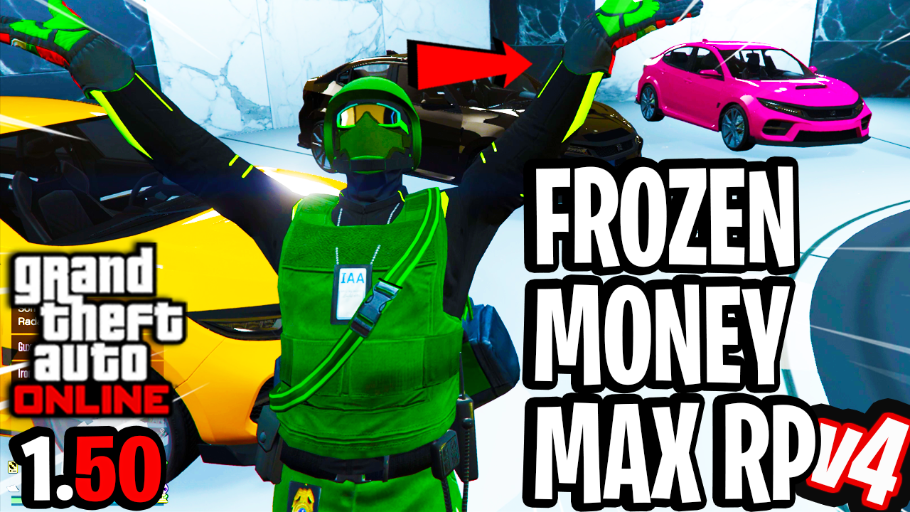 Frozen Money Glitch/Unlimited RP Solo! [GTA Online 1.50]**PATCHED