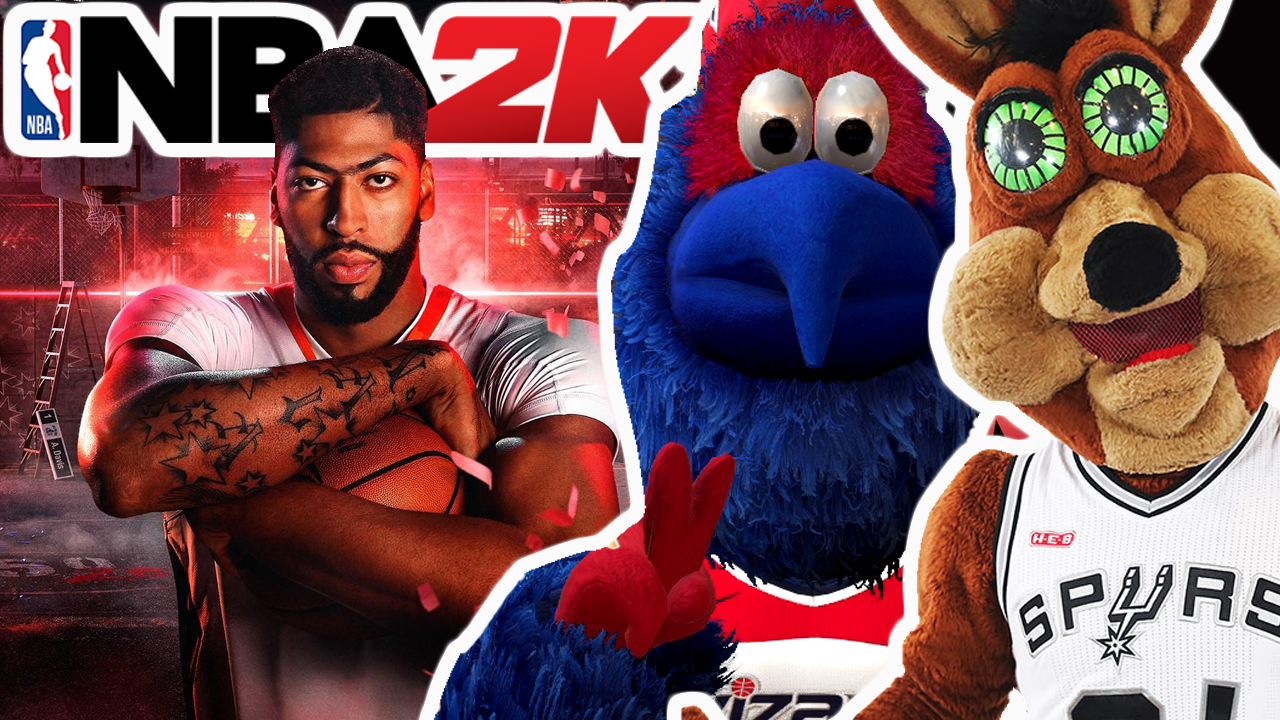 NBA 2K20 Mascot & Event Glitch