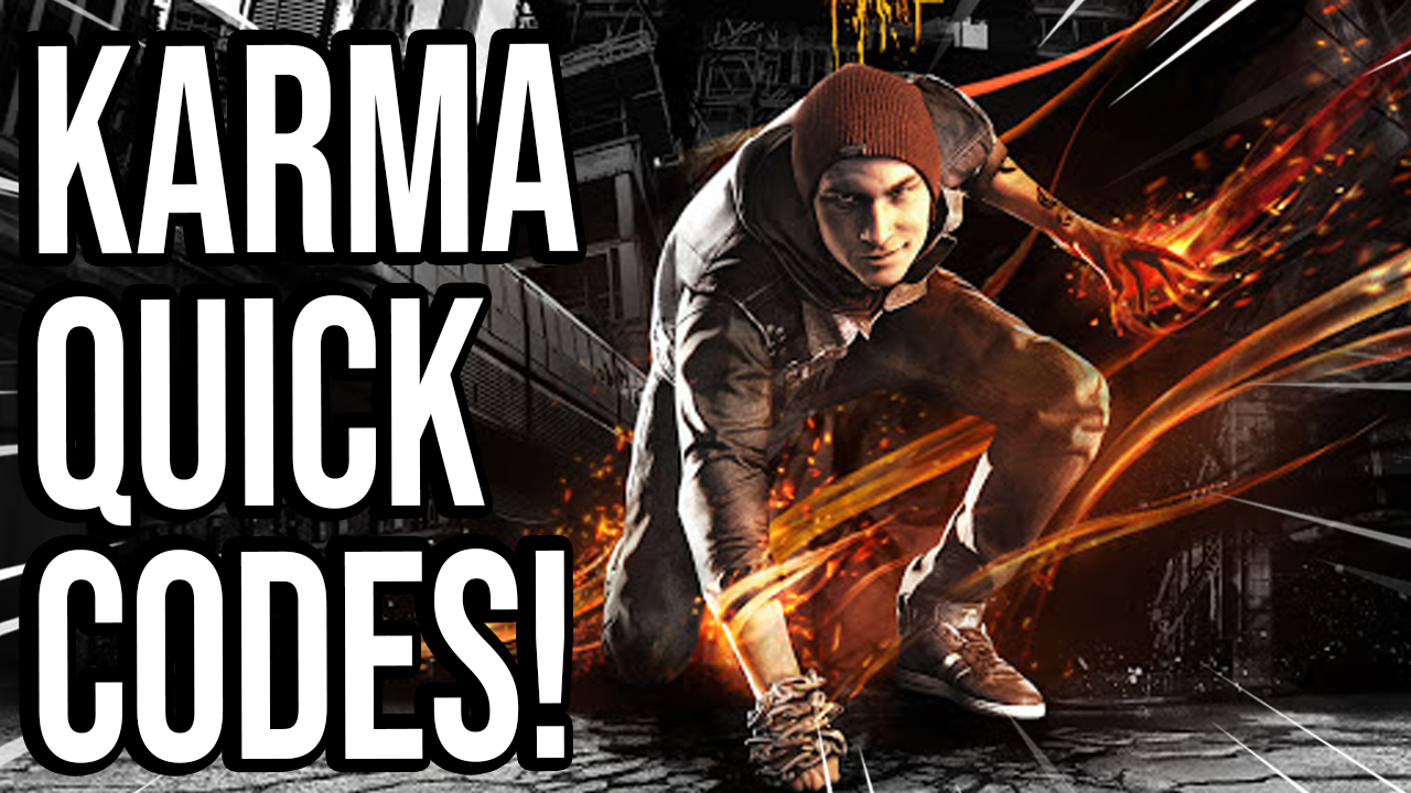Infamous 2 Second Son (Save Wizard Quick Codes)
