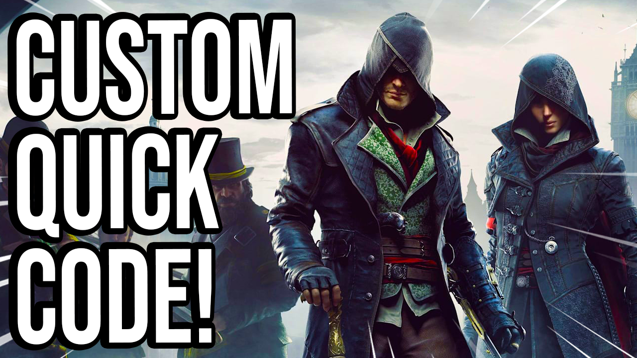 Assassins Creed Syndicate (Save Wizard Quick Codes)