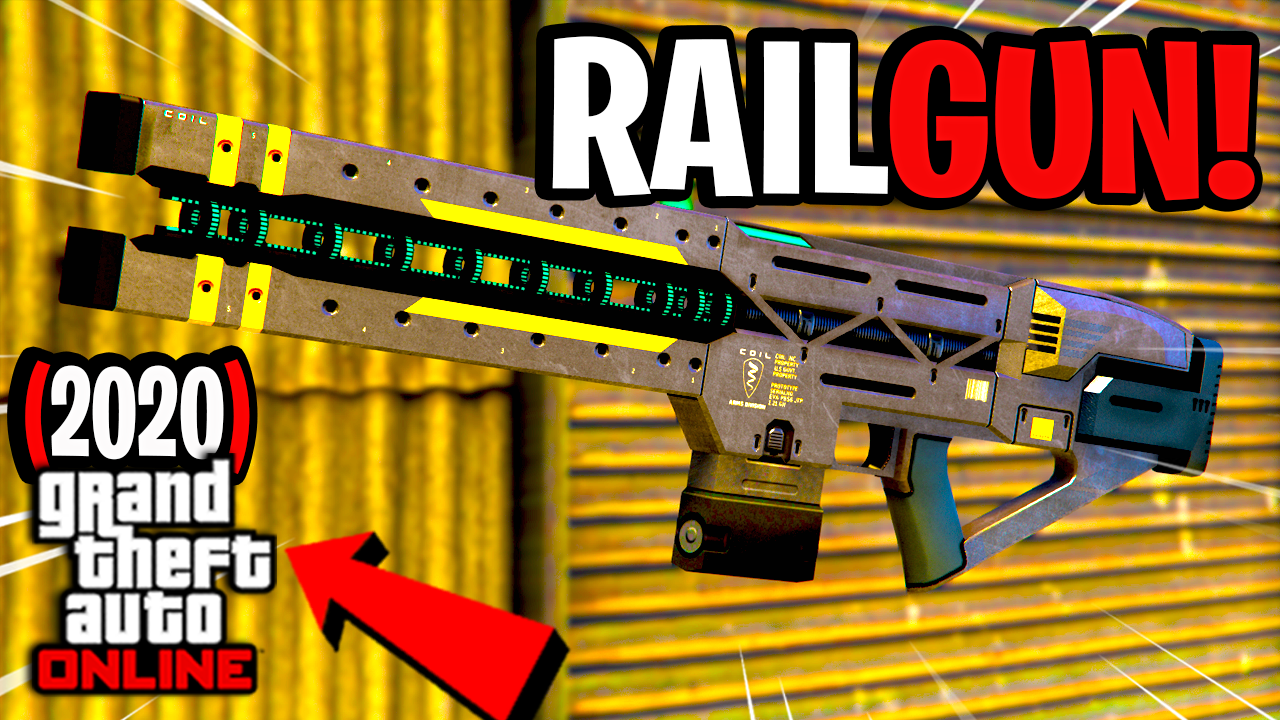 How To Use The RAILGUN in GTA Online (PS4)