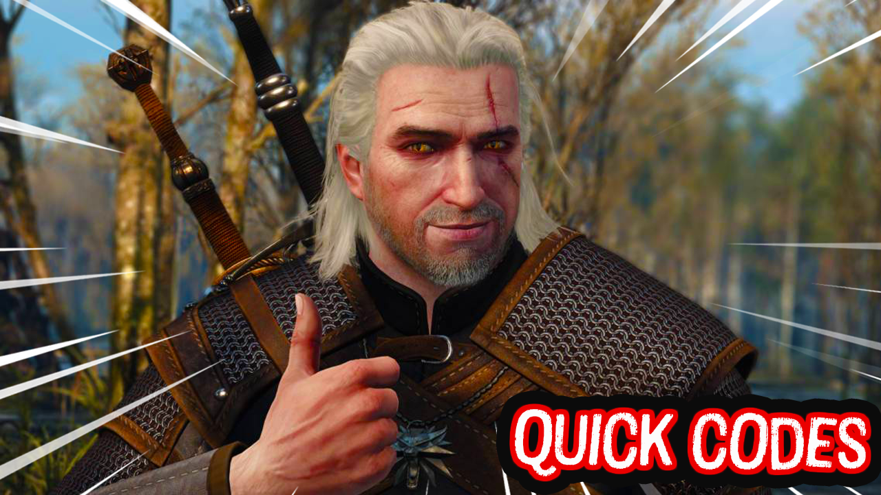 The Witcher 3 (Save Wizard Quick Codes)