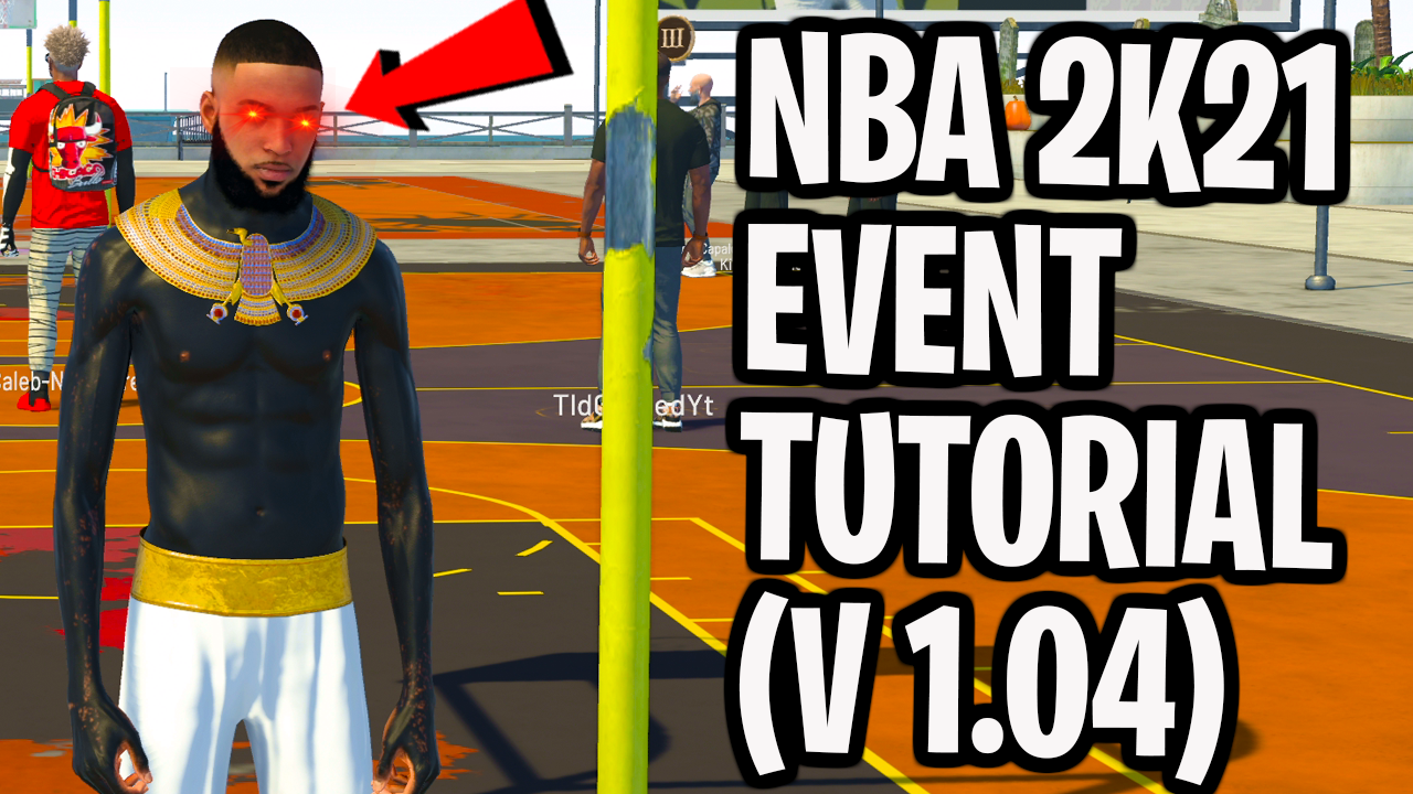 NBA 2K21 Event Clothing Files (Save Wizard)