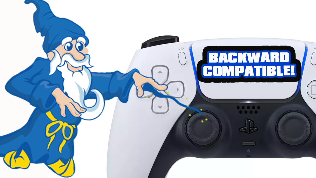 Confirmed! Save Wizard Will Work On PS5!