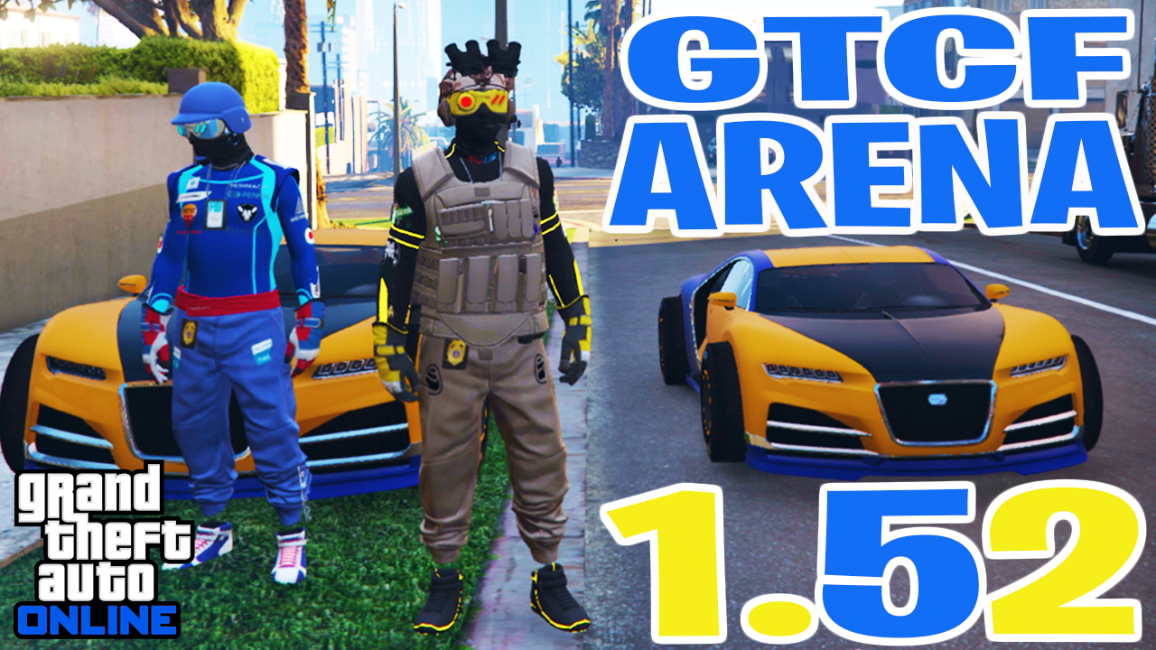How To Give Cars To Friends (Arena Method) GTA Online [1.52]