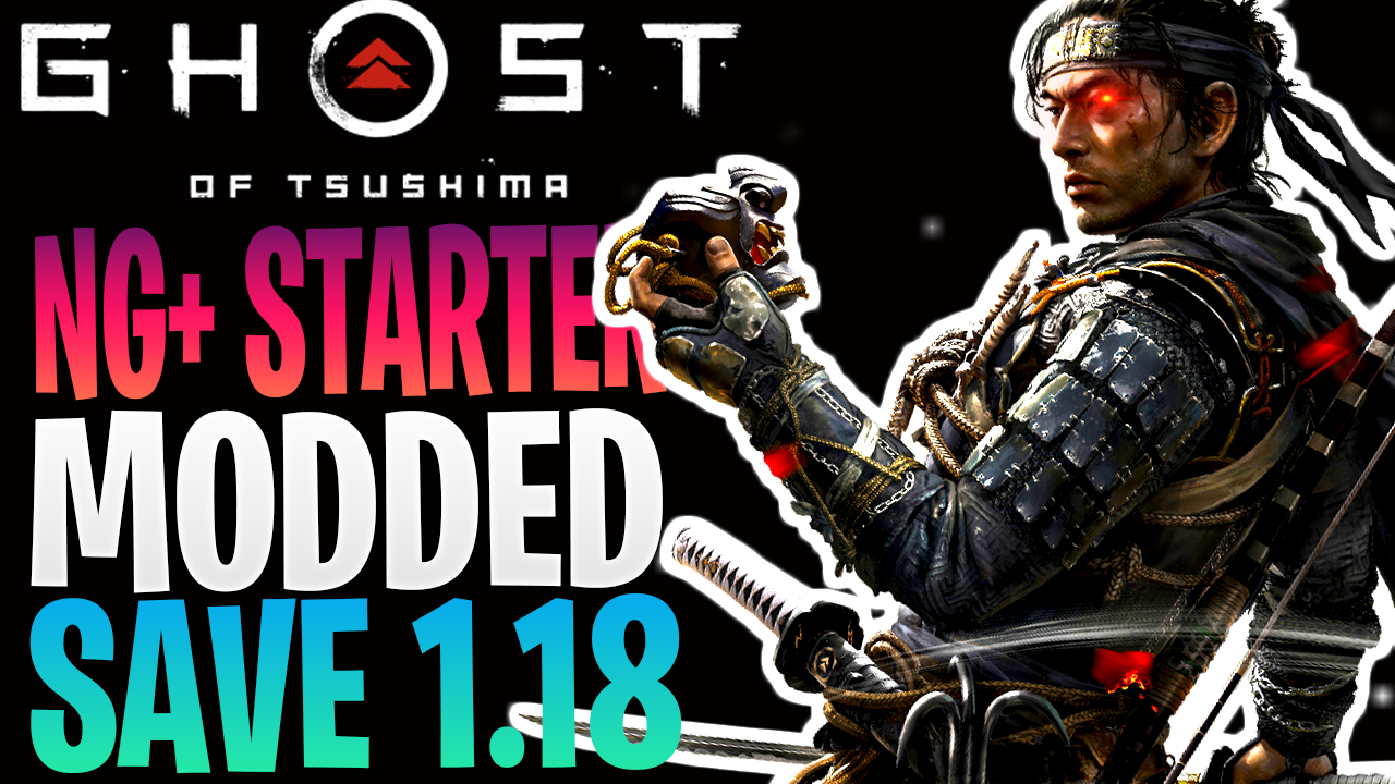 Ghost of Tsushima NG+ Starter Save (Everything Unlocked) 1.18