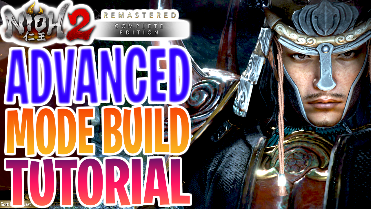 Nioh 2 Save Wizard Advanced Mode Tutorial 1.26