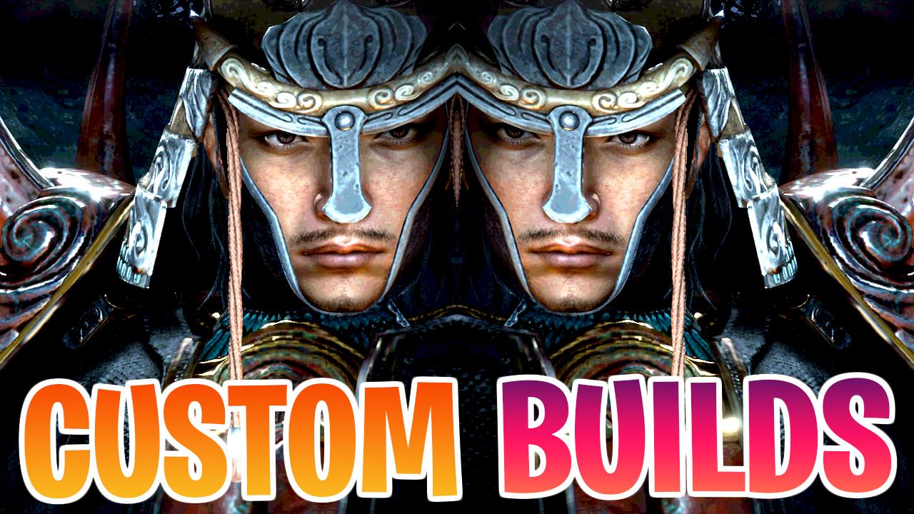 Nioh 2 Custom Builds (PS4/PS5)