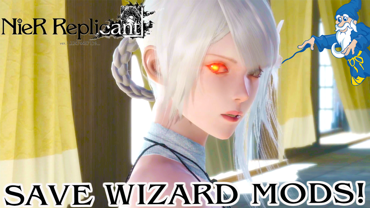 Nier Replicant ver.1.22474487139…PS4 Save Wizard Max Cheats Released! (Modded Starter Save BONUS)
