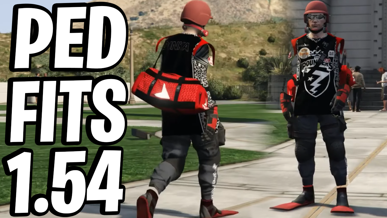 SAVE WIZARD OUTFITS ARE BACK! (PED OVERLAY TRANSFER GLITCH) GTA ONLINE (1.54)